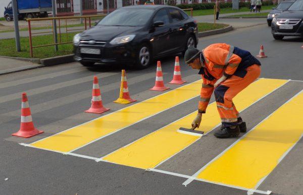 Краска для разметки автодорог