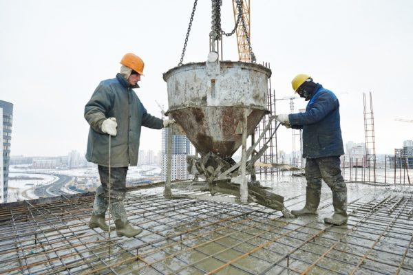 Специальная противоморозная добавка в бетон