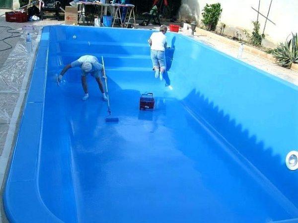Краска для бассейнов