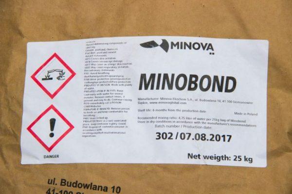 Minobond смесь для ремонта